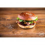 Smokey beef burger