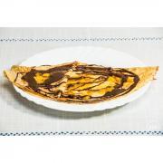 Crêpe orange noire