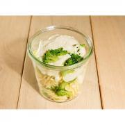 Fusilli brocolis crème de parmesan