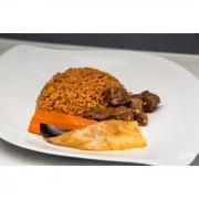 Red rice viande au choix