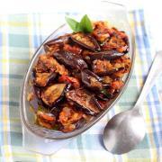 Achari aubergine