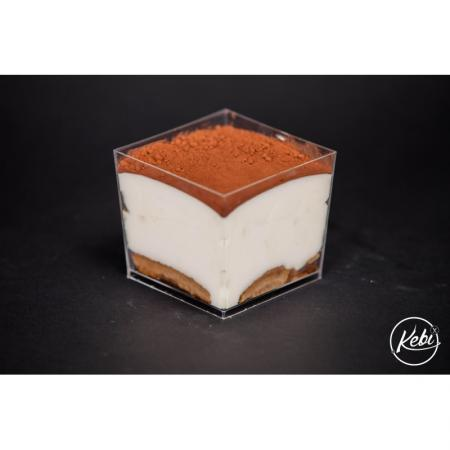 Tiramisu traditionnel, cafe et amaretto
