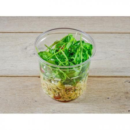Salade de risoni crudités parmesan AOP