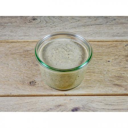 Crème de lentilles à l'huile de noix