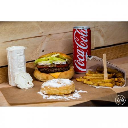 Formule frites boisson et dessert
