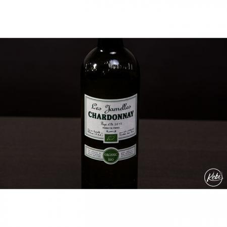 Chardonnay du Pays d-Oc Les jamelles AB 75cl
