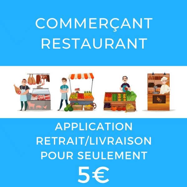 Logiciel boutique en ligne restaurant et commerce